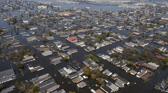 Flood and homeowners insurance damages after natural disaster