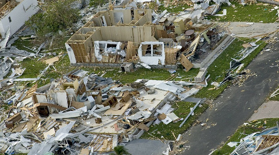 Property damage hurricane mandatory evauation