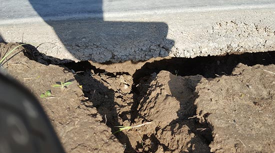 Fixing foundation cracks and damages helps prevent home flooding from rising stormwater