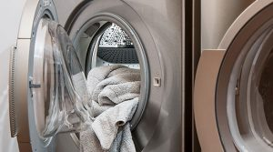 Washing machine malfunction flood and water damage removal
